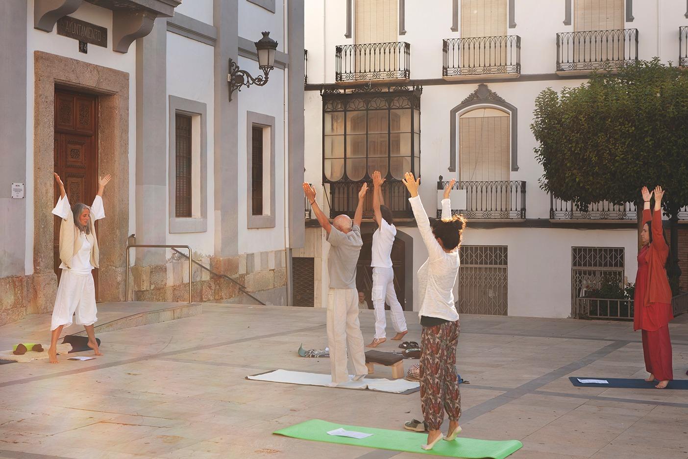 Actividades de Bienestar, Yoga en en centro