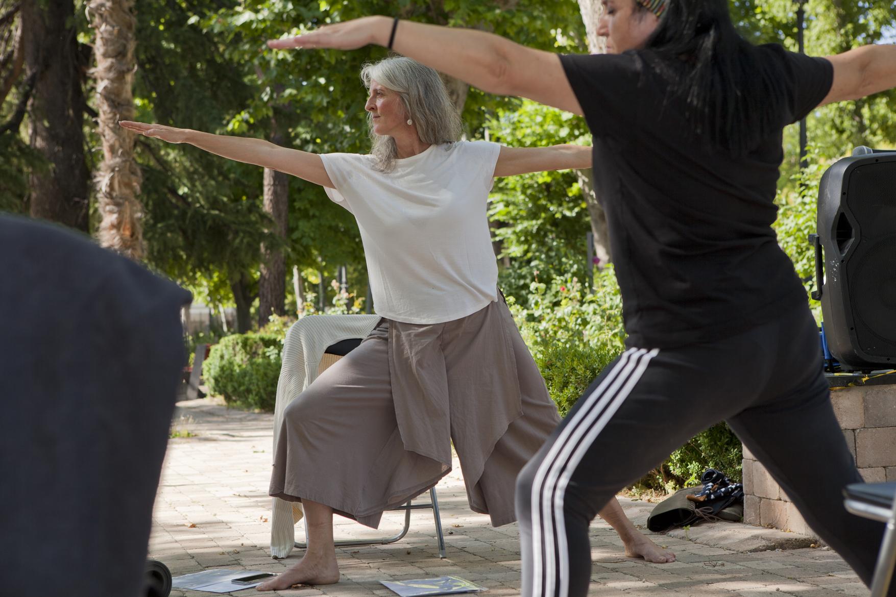 Yoga en el Parque de la Alameda
